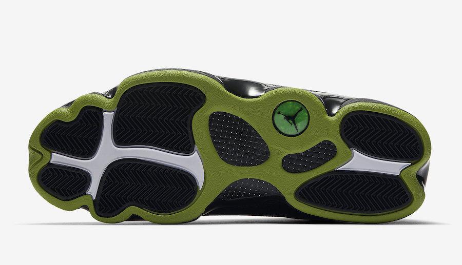 Nike Air Jordan 13 13 13 XIII size 14. Black Altitude Green. 414571-042. playoff 5fe903