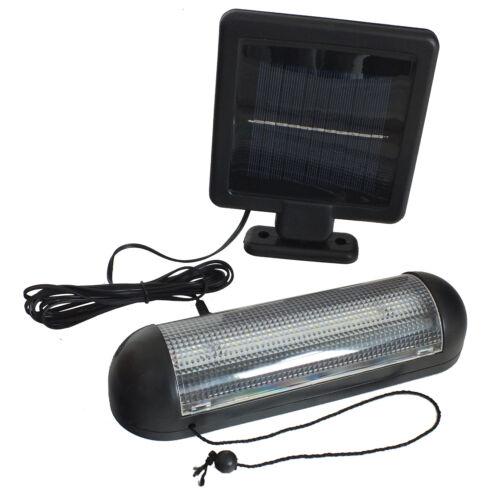 VOCHE 10 DEL Énergie Solaire Abri De Jardin Lumière Rechargeable Garage stable Fixations