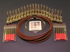 EA Monorail Soldered pedal board cable kit - Right Angle - Authorized Dealer