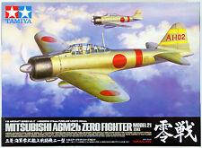 Tamiya 60317 1/32 Kit MITSUBISHI Zero Fighter A6m2b Model 21 Japan 0814 Sl10
