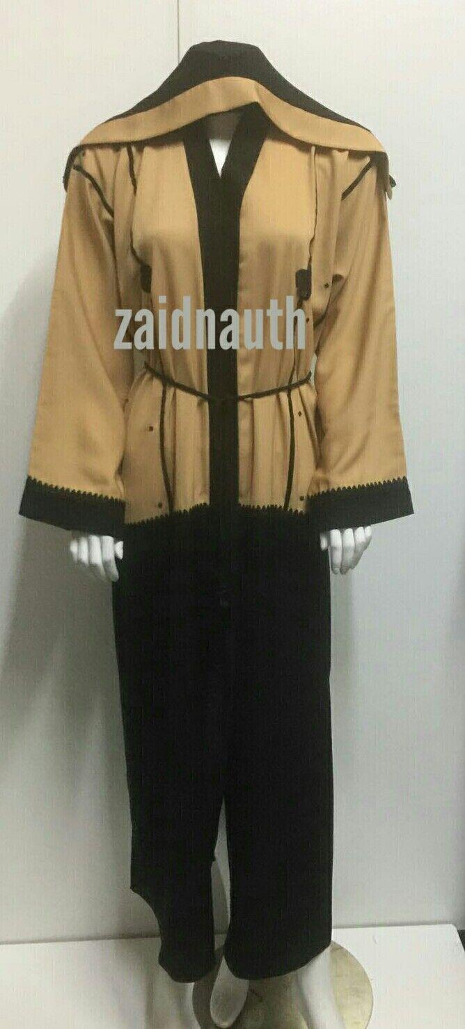 NUOVO aperto sul davanti Abaya Vestito Islamico di Usura Donne Donne Donne saudite dress. TG 52.54.56.58.2017 b98dc1