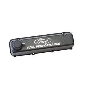 Ford Performance 429 460 Tall Satin Black Aluminum Valve
