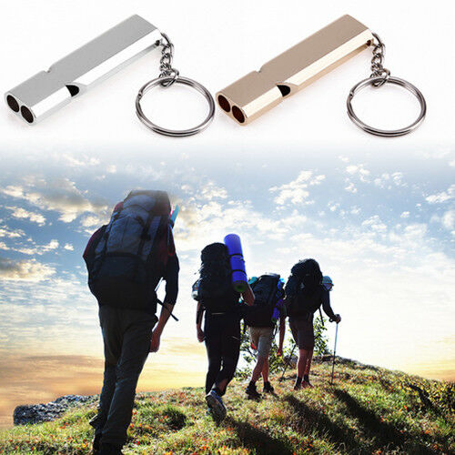 High Frequency Survival Whistle Keychain Emergency Survival Whistle