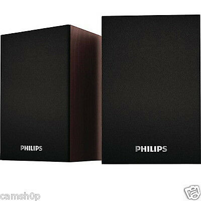 Philips SPA-30 2.0 Multimedia Speaker System (Black)