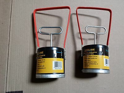 lots of 2 pc of 16lb picker GOLD BLACK SAND SEPARATOR PICK-UP Magnetic HandHeld