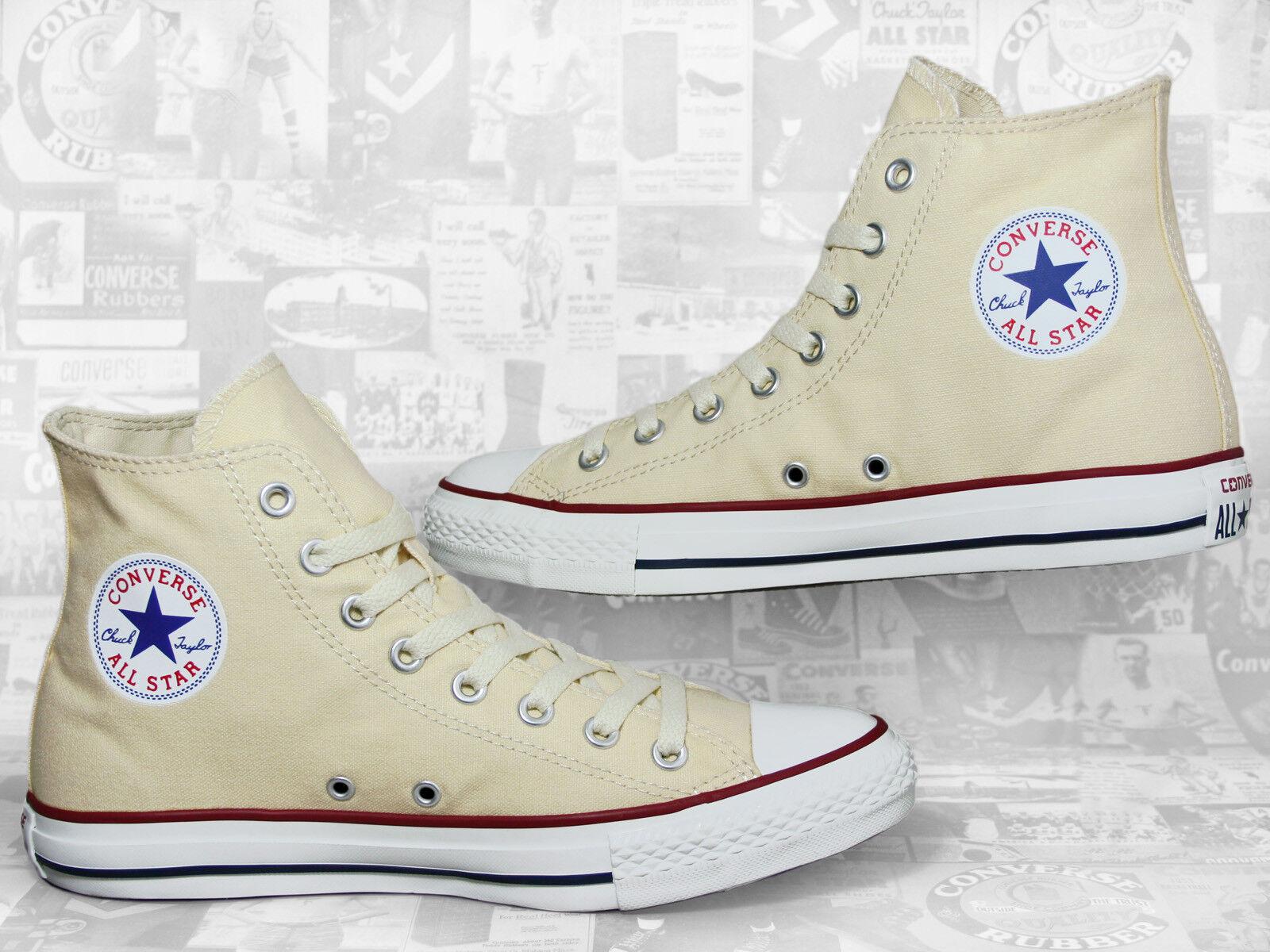 Converse Chuck Taylor All Star Chucks Hi WEISS Natural / Beige M9162 Sneaker