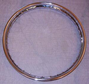 1960-039-s-Matchless-G85CS-Scrambler-DRUM-chrome-motorcycle-rim-1-60-034-X-21-034-40-holes