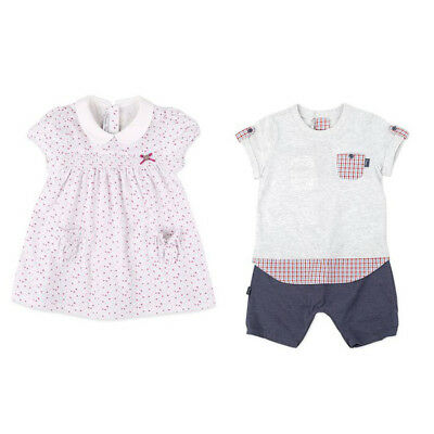 Twins Baby Clothing asb Sleeveless T-shirts and pants Set 6-12Months