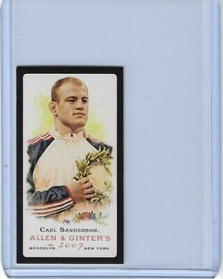 2007 ALLEN /& GINTER CAEL SANDERSON CARD #23 WRESTLING IOWA STATE OLYMPICS ~ QNTY