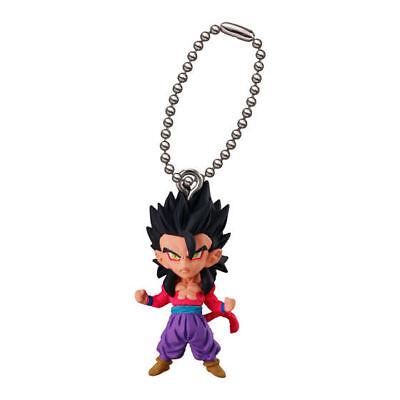 Dragon Ball Z Super Swing Mascot PVC Keychain SD Figure Saiyan~SS4 Gogeta @23467