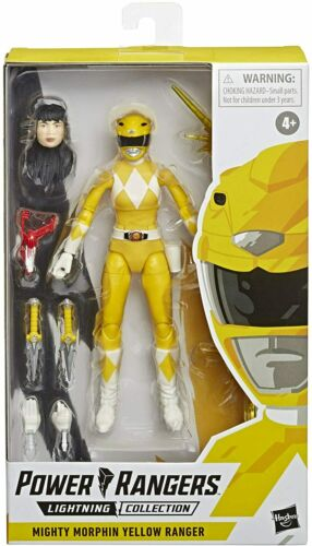 Power Rangers Lightning Collection Figure NEW Mighty Morphin Yellow Ranger