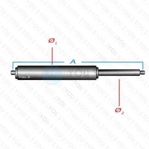 1 x YOU.S Gasdämpfer für VW CADDY III Kasten Kombi TOURAN 1T1,1T2 Vorne