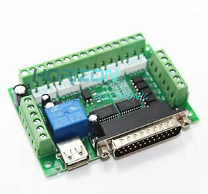 5-axis-CNC-Breakout-Board-w-optical-coupler-for-Stepper-Motor-Driver-FOR-MACH3