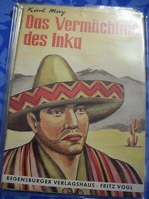 Regensburger Verlagshaus Band 10 Das Vermächtnis des Inka Karl May