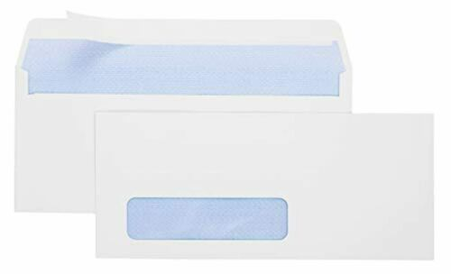 Office Deed 500#10 Envelopes SELF SEAL Business Envelope Single Window Design S