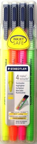 Staedtler Triplus Textsurfer Resaltador Plumas-Caja De 4 Colores