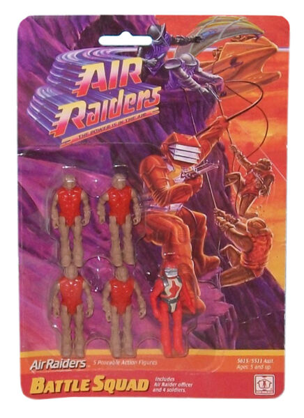 Air Raiders Soldiers x10 Battle Squad Army Builders