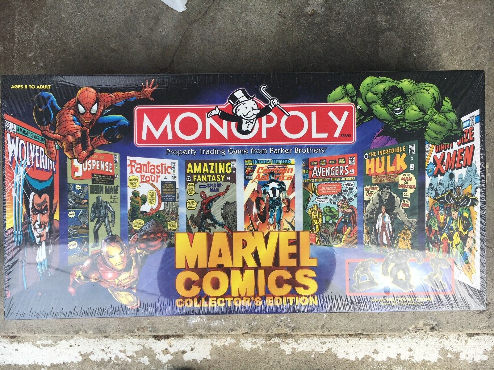 Brand new never opened marvel comics collectors edition monopoly