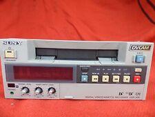 Sony DV-CAM DSR-20P Digital Video Cassette Recorder Mini DV CAM CCTV Survailance