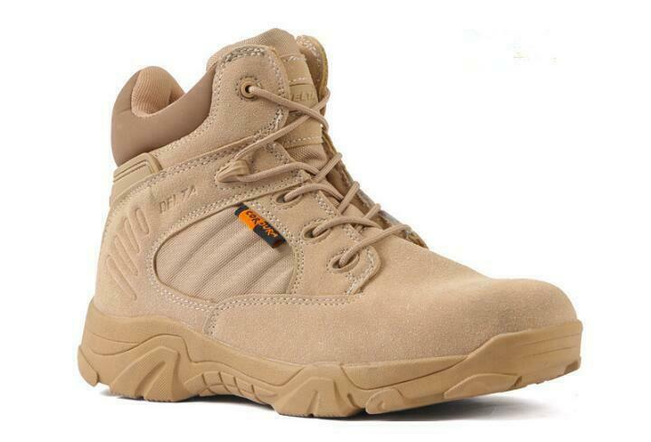 Mens Womens Army Combat Patrol Boots Tactical Military Outdoor Mid Boots