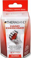 Thera-band Hand Exerciser, Beginner, Red, 1 Ea on sale