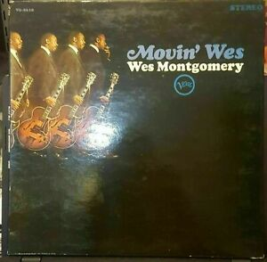Wes-Montgomery-Movin-Wes-LP-Verve-V6-8610-Stereo-VG-VG-Gatefold-FAST-USA-SHIP