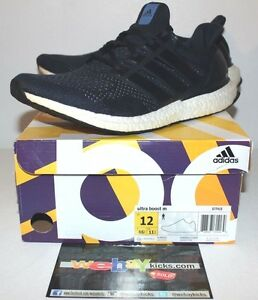 Adidas Ultra Boost M 1.0 Navy Blue White S77415 Sneakers Men s Size ... a8626ad75