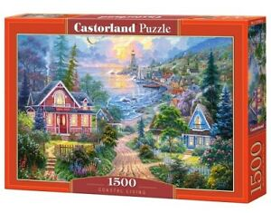 Castorland C-151929-2 - Coastal Living, Puzzle 1500 Teile - Neu