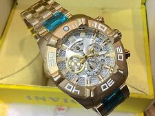 24846 Invicta Jason Taylor 51mm Men Quartz Chrono Gold-Plated SS Bracelet  Watch 933fe7170a