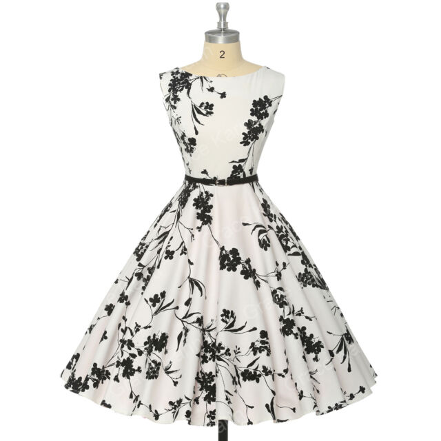 Grace Karin 50's 60s Vintage Style Swing Pinup Housewife Summer Dress