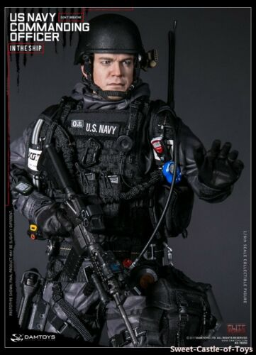 1//6 DamToys US Navy Commanding Officer 78050 Action Figure DAM Toys Male