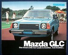 Prospekt brochure 1978 Mazda GLC  (USA)