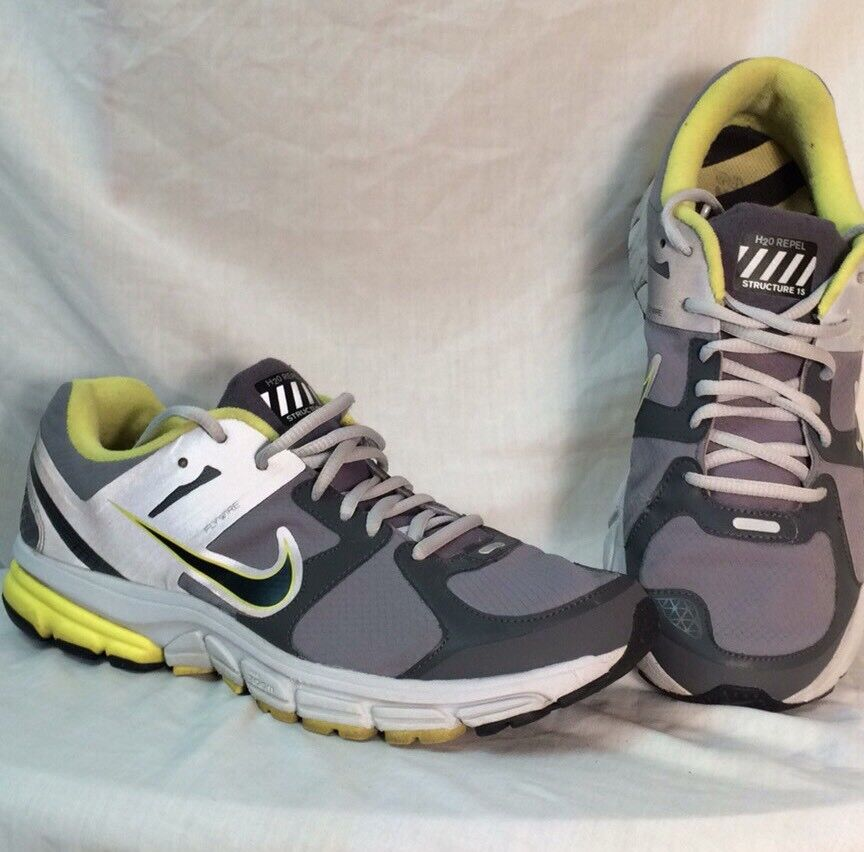 NIKE ZOOM FLYWIRE H20 REPEL STRUCTURE 15 Size Sneakers Athletic Tennis Shoes Size 15 11 0ff33f