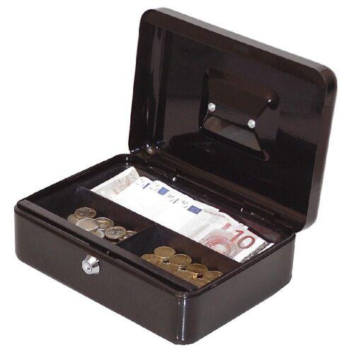 Geld Wert Münz Dokumenten Kassette Tresor Spardose Geldkassette 25x19x9cm 90025