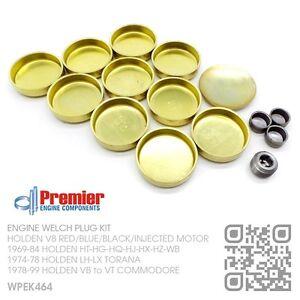 WELCH-PLUG-KIT-INJECTED-5-0L-304-355-V8-MOTOR-HOLDEN-VN-VP-VQ-VR-VS-VT-COMMODORE