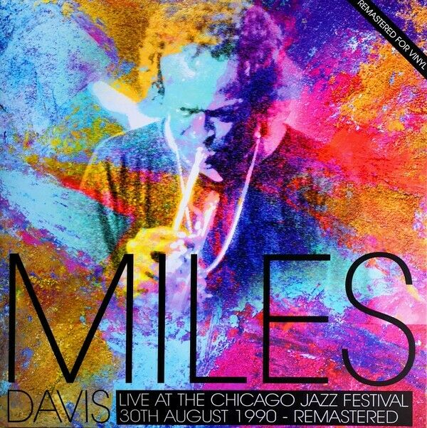 Miles Davis - Live At The Chicago Jazz Festival 1990 2017 Remastered NEW Sealed