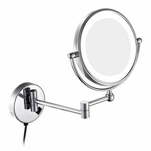 Image Is Loading Gurun Wall Mounted Magnifying Bathroom Vanity Makeup Mirror