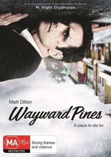 1 of 1 - Wayward Pines : Season 1 (DVD, 2015, 3-Disc Set)