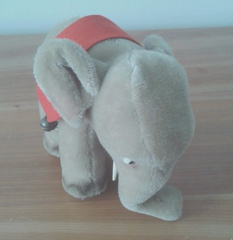 STEIFF ELEPHANT Rare Vintage Made in US Zone Germany 1948 to 1952