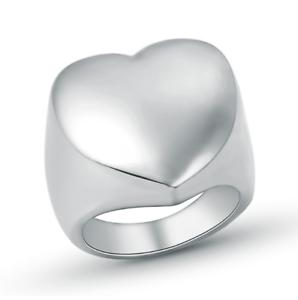 Anello-Personalizzato-Cuore-Fede-Fascia-Donna-Acciaio-Inox-Steel-Incisione
