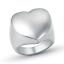 Anello-Personalizzato-Cuore-Fede-Fascia-Donna-Acciaio-Inox-Steel-Incisione miniatura 1