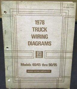 90 chevy silverado wiring diagram 1978 gmc chevy electrical wiring diagram dealer manual truck  1978 gmc chevy electrical wiring