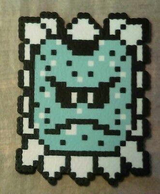 Whomp Thwomp Super Mario Bros 3 Perler Bead 8 Bit Wall Pixel Art