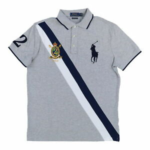 NEW RED : S 2XL POLO Ralph Lauren Men/'s Big Pony Custom Fit Polo Shirt