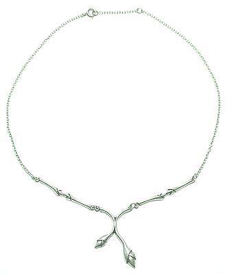 "KALEVALA KORU KK Finland - Finer Model of Silver Necklace ""Lumo"" / ""Spellbound"""