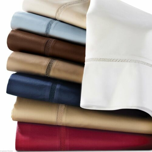 Brand New Ralph Lauren Regent California King Fitted Sheet color brown