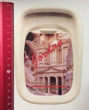 Aufkleber/Sticker: Jordan - Royal Jordanian-Your Window On The World (150416181)
