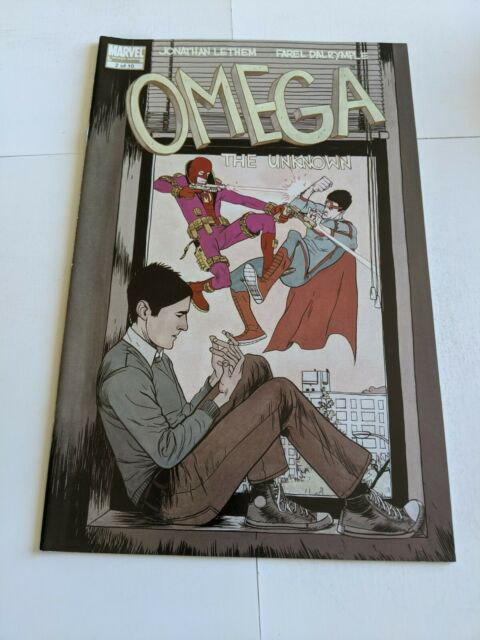 Omega The Unknown #2 January 2008 Marvel Comics