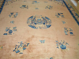 china peking teppich 3 20 x 4 00 m blaue phase old carpet. Black Bedroom Furniture Sets. Home Design Ideas