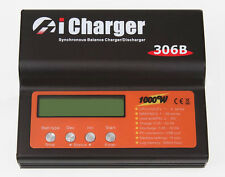 iCharger 306B 1000W 6S 30A USB Port LiPo Balance Battery Charger Lilo LiFe DC